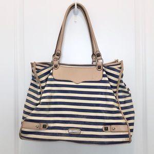 Rebecca Minkoff Blue White Stripe Bag
